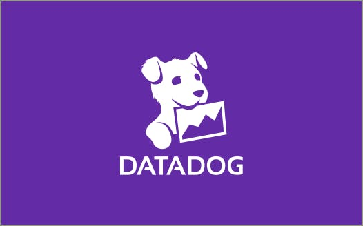 press datadog white logo