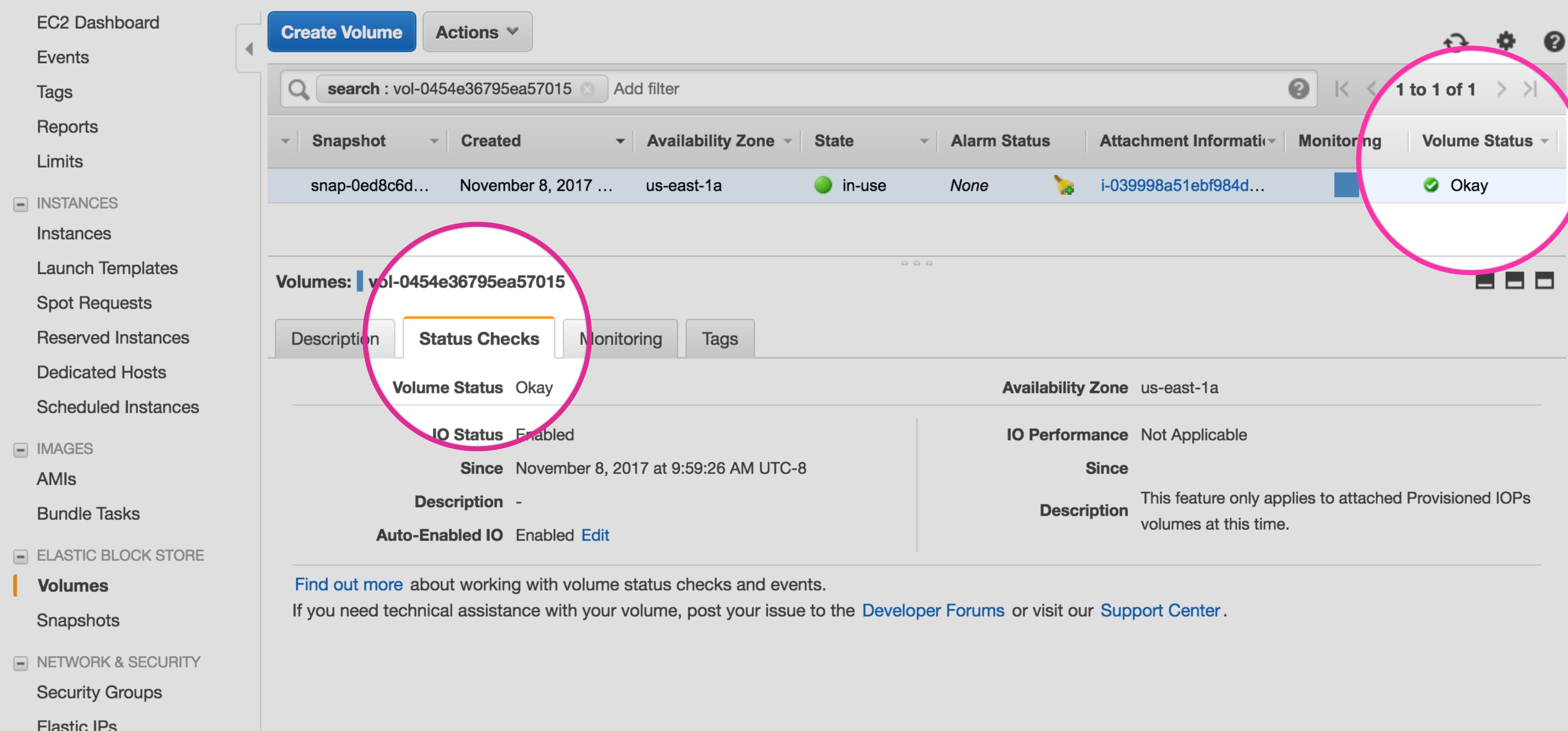 Collecting Amazon EBS metrics | Datadog