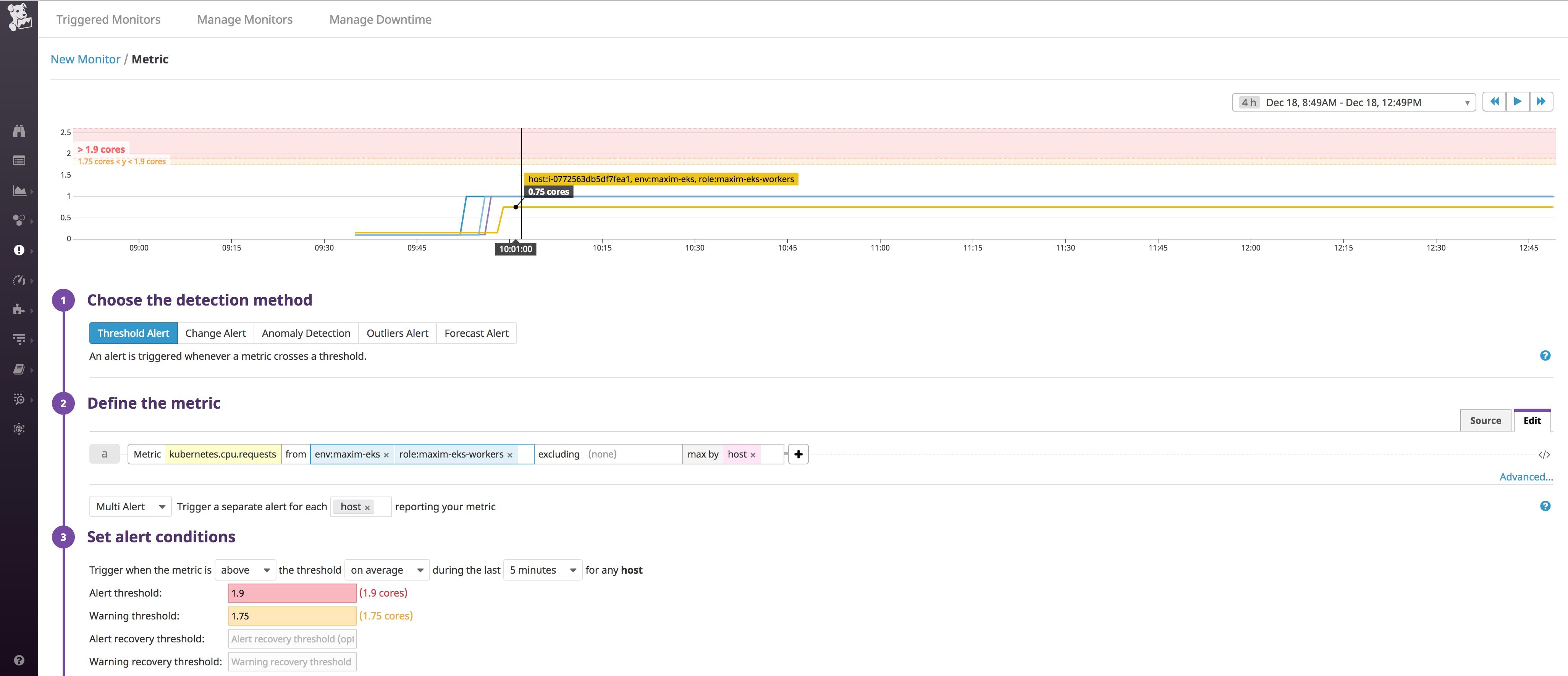 Monitoring your EKS cluster with Datadog   Datadog