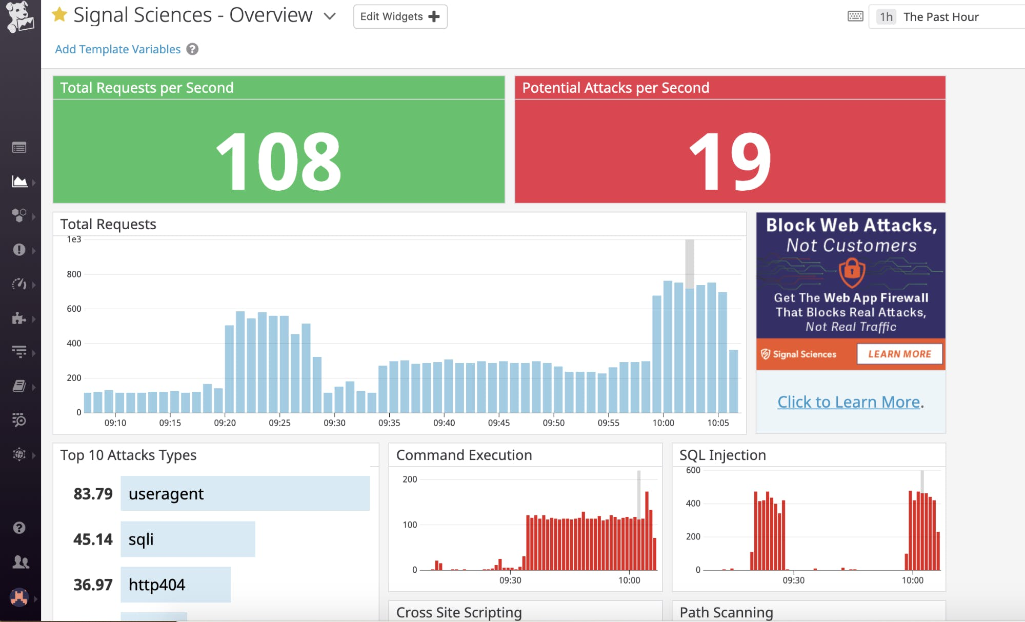 Signal Sciences Brings Real Time Web Attack Visibility To