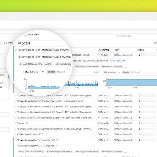Announcing Windows support in Datadog process monitoring | Datadog