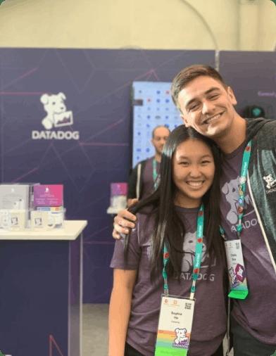 Datadog at career fair