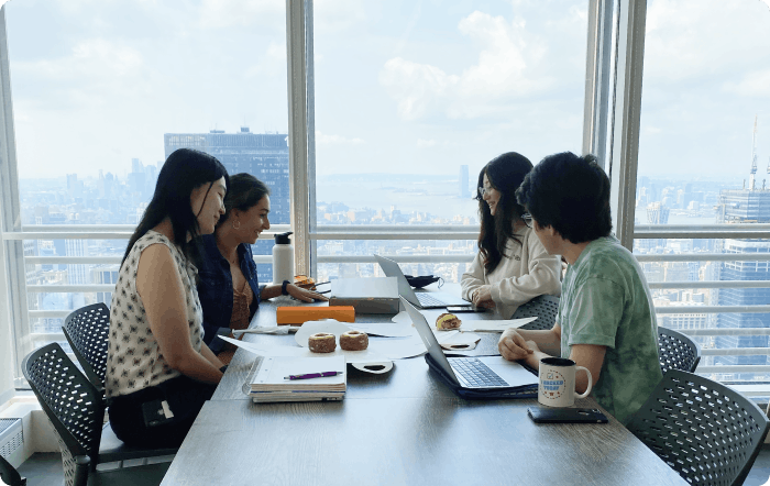 Interns at New York Offices