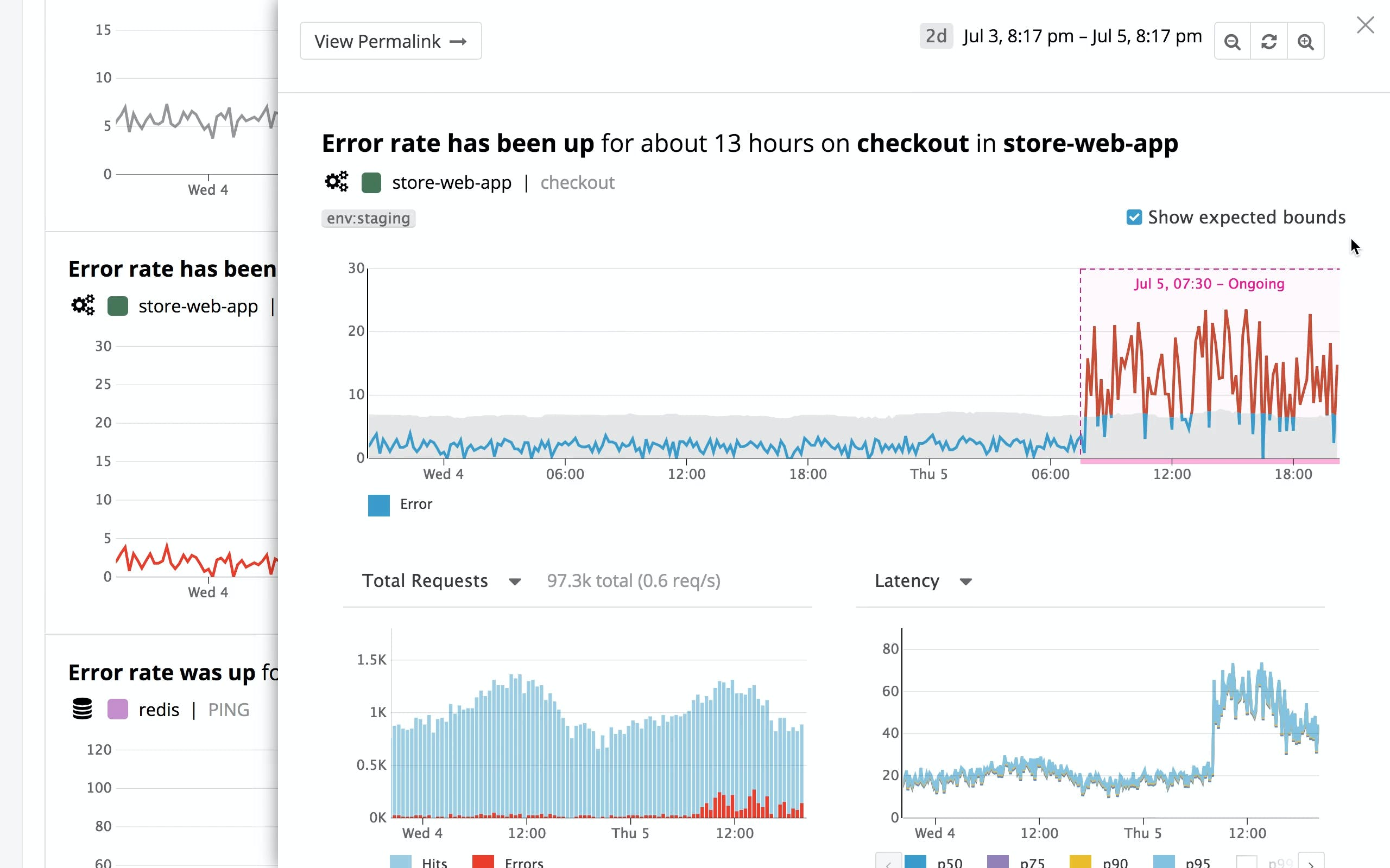 Ensure optimal performance with machine learning-powered alerts